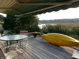 cape cod waterfront summer rental best views kayaking paddle
