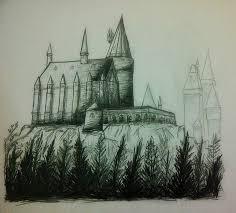 sketch tugas tugas menggambar arsitektur hall of flames