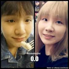 No Makeup Meme - without makeup suga and cl could be twins allkpop meme center