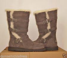 womens ugg maddi boots ugg australia maddi charcoal boots size 4 1001520k ebay