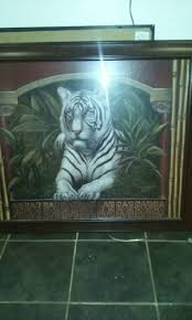 home interior tiger picture vintage beautiful tiger frame from home interiors for sale in