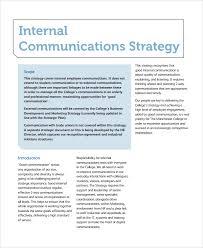 strategic plan in word