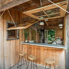 Awning Window Hinge Waterfront Cabin Home Bar Design Hinges On View