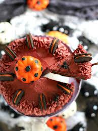 halloween pumpkin oreo cake sweet and savory meals