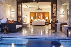 Floor Level Bed Dorado Beach A Ritz Carlton Reserve East Beach Plunge Reserve