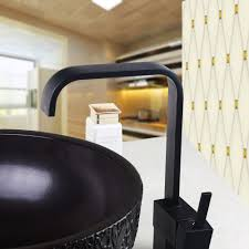 single handle oil rubbed bronze kitchen sink faucet 8520 1 black