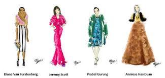 nyfw recap w fashion illustrator emily brickel edelson fashion