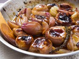 how to make sweet and buttery glazed roasted shallots serious eats