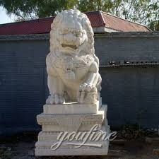 foo dogs for sale marble lion statuesfoo dog statues lion statues front porch