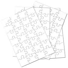 amazon com inovart puzzle it 28 piece blank puzzle 24 puzzles
