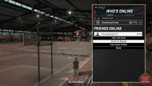 how to play mypark with friends in nba 2k17