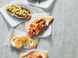 tomato and black eyed pea relish crostini recipe myrecipes