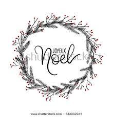 joyeux noel christmas cards joyeux noel lettering greeting card stock vector 533902045
