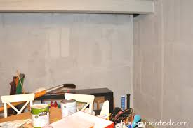 basement refresh painting wall to wall paneling part 1 house