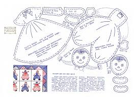 applique patterns free raggedy and andy doll applique pattern