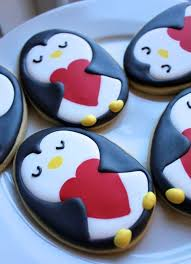 68 best penguin cookies images on pinterest decorated cookies