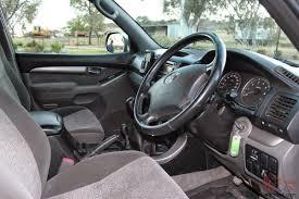 landcruiser prado gxl 4x4 2004 4d wagon manual 8 seats