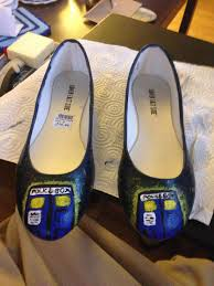 wedding shoes reddit does a painted project count my wedding shoes doctorwho