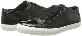 womens boots myer miss kg kali s low top sneakers black shoes trainers miss kg