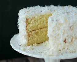 this delicious winter white toasted coconut cake is made from
