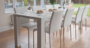 dining room table white the perfect dining set when space is a premium unextended the fern