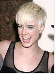 how to style short hair all combed forward like the bangs and choppy top could live without the dotty eyes one
