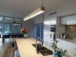 flare tasmanian designer kitchen with bluelab u0027s timber led