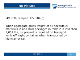 49 cfr hazardous materials table hazardous materials awareness by pa l i