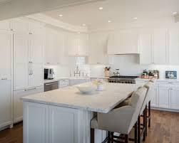 White Tile Backsplash Houzz - White tile backsplash