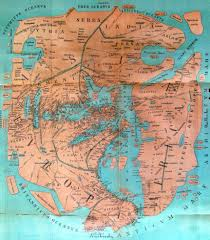 Accurate Map Of The World Map Of The Known World 43 A D 1723x1961 Mapporn