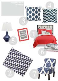 Navy Coral And White Bedroom Design Evolving Navy And Coral Design Evolving
