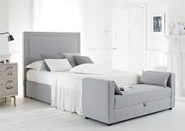 bedroom contemporary white wooden desk gray bedroom walls grey
