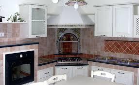 cucine con piano cottura ad angolo cucine siciliane mod toscana