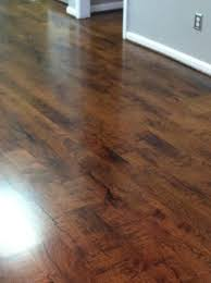 hardwood in family room