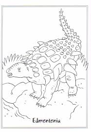 kids n fun com coloring page dinosaurs 2 edmontonia