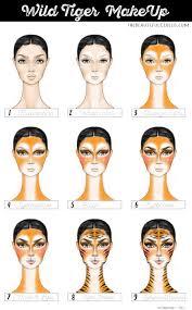 halloween makeup to buy tiger make up how to halloween fun pinterest tigers