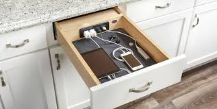 what wood is best for kitchen cabinet doors this brilliant setup will keep all your counters cord free
