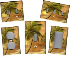 lighted tree home decor palm tree in paradise 2 palm tree home
