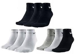 s quarter boots nike socks quarter football run black white