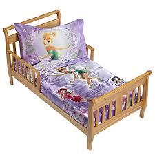 Tinkerbell Bathroom Set Disney Fairies Garden Treasures 4 Piece Toddler Bedding Set Bed