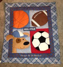 theme quilt 36 best quilts sports theme images on quilt blocks