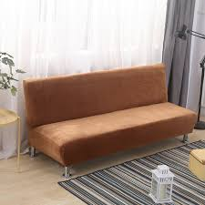 Plush Sofa Bed Plush Sofa Bed Cover All Inclusive Slipcover Sofa Without Armrest