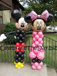 mickey mouse party supplies and minnie mouse balloon decorations