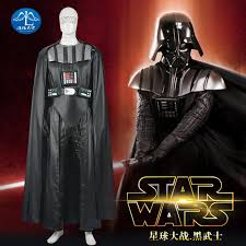 star wars darth vader costume suits pu leather jumpsuit