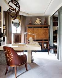 interior home office table design small space modern designing