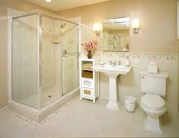 beige bathroom designs stunning small bathroom tile ideas with beige concrete floor and