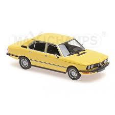 bmw model car model car bmw 520 1974 yellow 1 43 maxichs