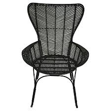 black rattan wingback chair threshold target 129 99 add u0027l
