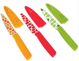 colored kitchen knives hton forge debuts multi colored printed paring knives frank