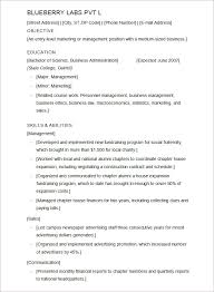 College Resume Builder Free Resume Templates For College Students Resume Template And